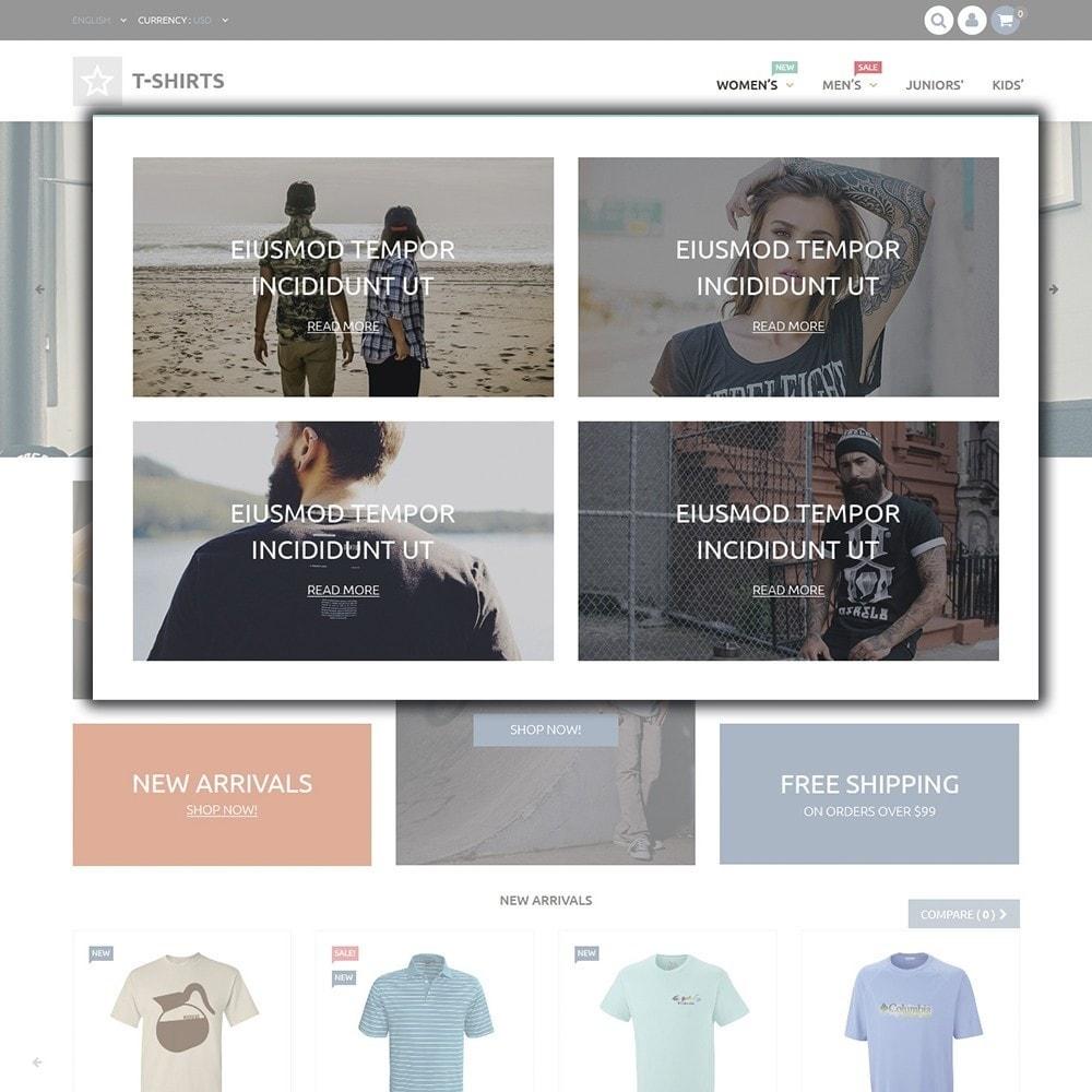 theme - Moda & Calzature - T-Shirts - 4