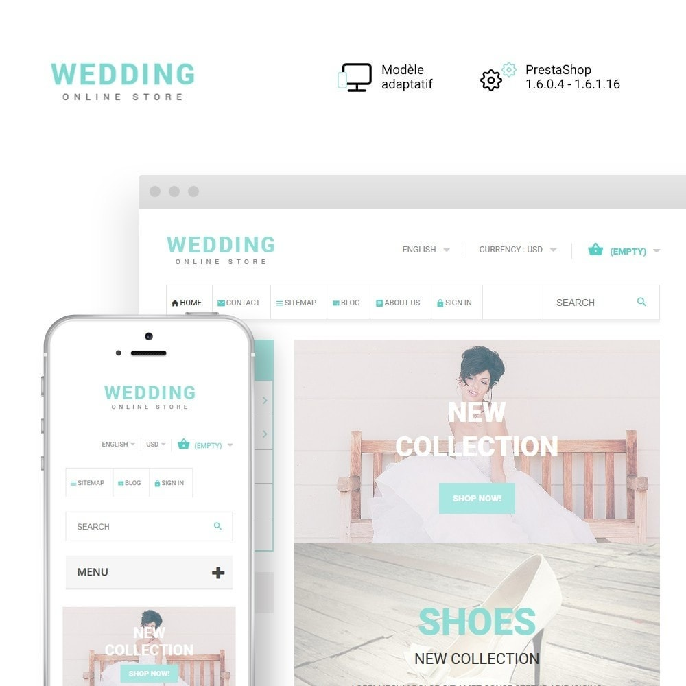 theme - Mode & Chaussures - Wedding - 1