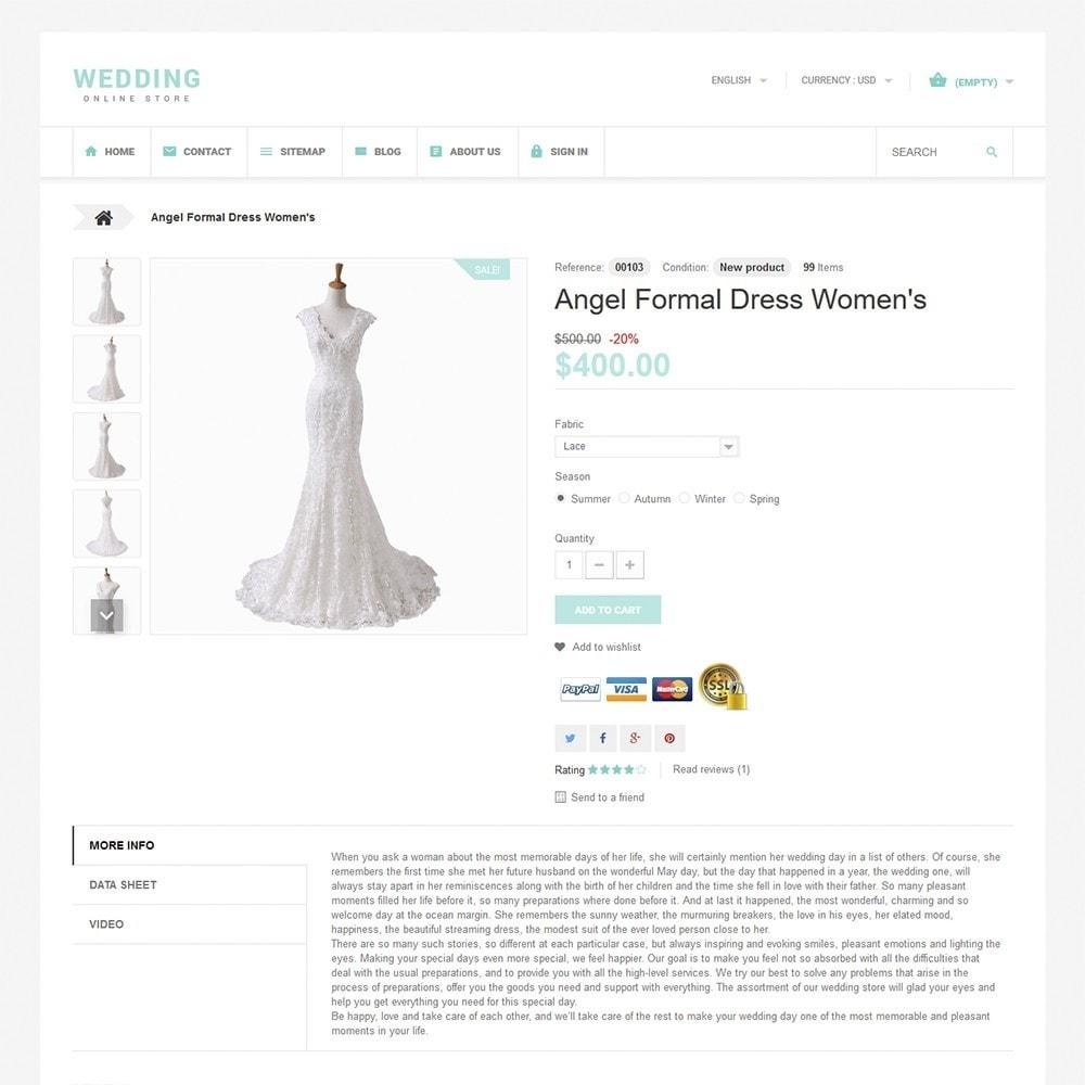 theme - Moda & Calzature - Wedding - 3