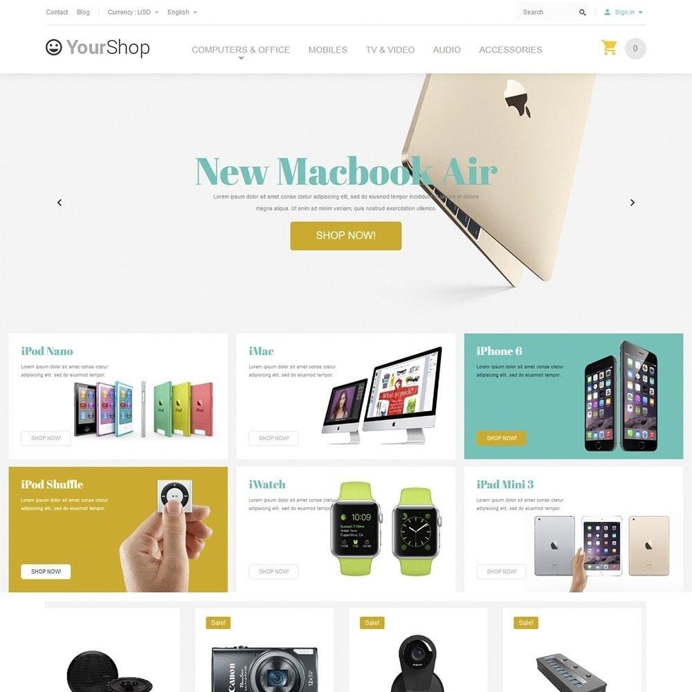 theme - Electrónica e High Tech - YourShop - Electronics Store - 2