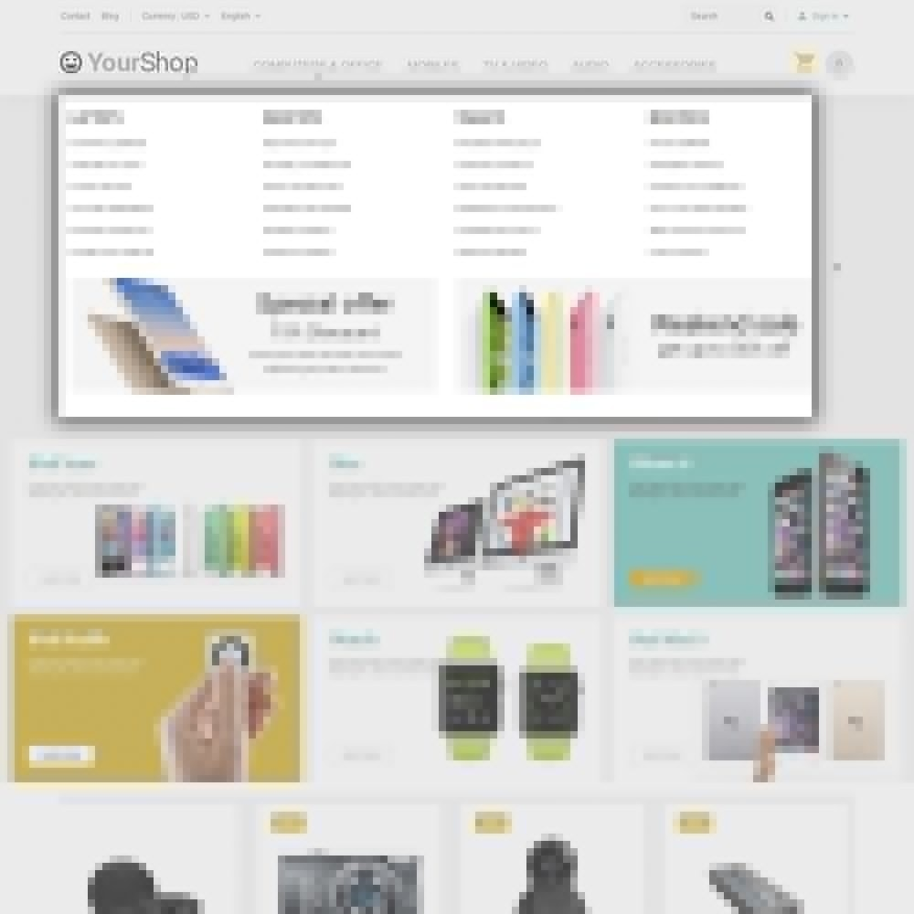 theme - Elettronica & High Tech - YourShop - Electronics Store - 5