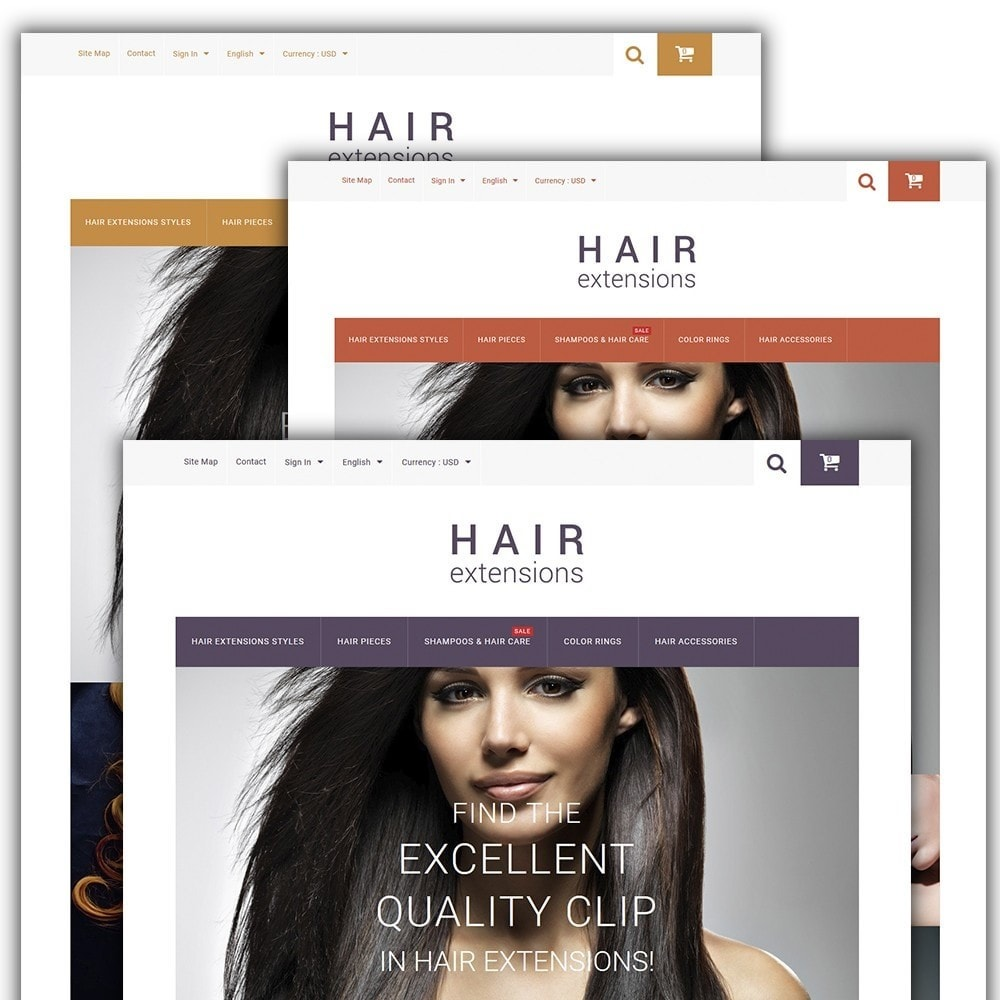 theme - Moda y Calzado - Hair Extensions - 2
