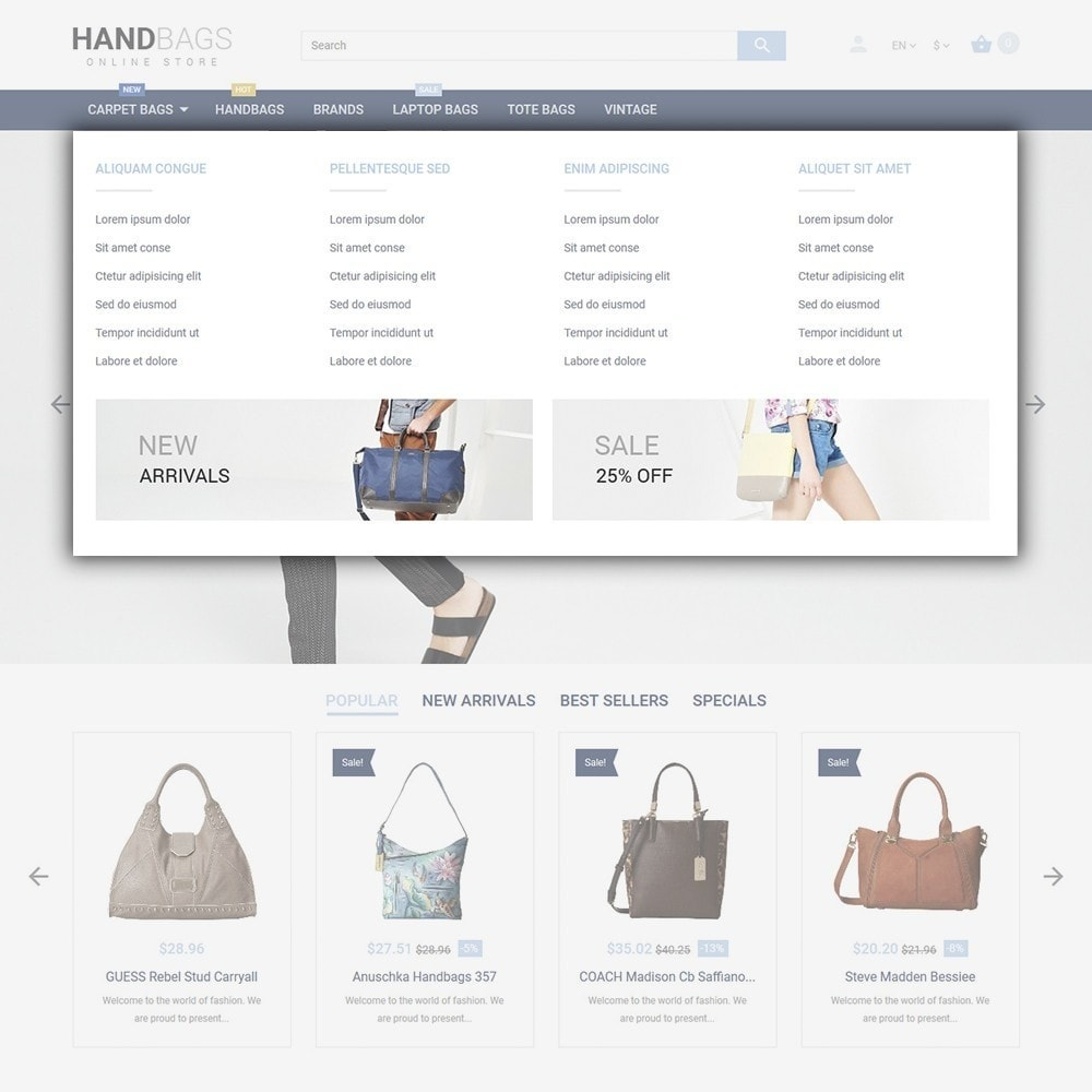 theme - Fashion & Shoes - Handbag - 5