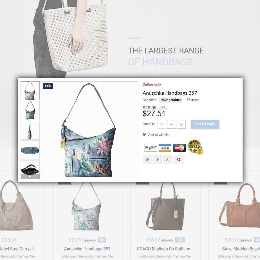 theme - Moda y Calzado - Handbag - 4