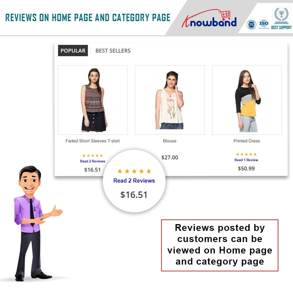 module - Customer Reviews - Knowband - Product Review Reminder and Incentives - 2