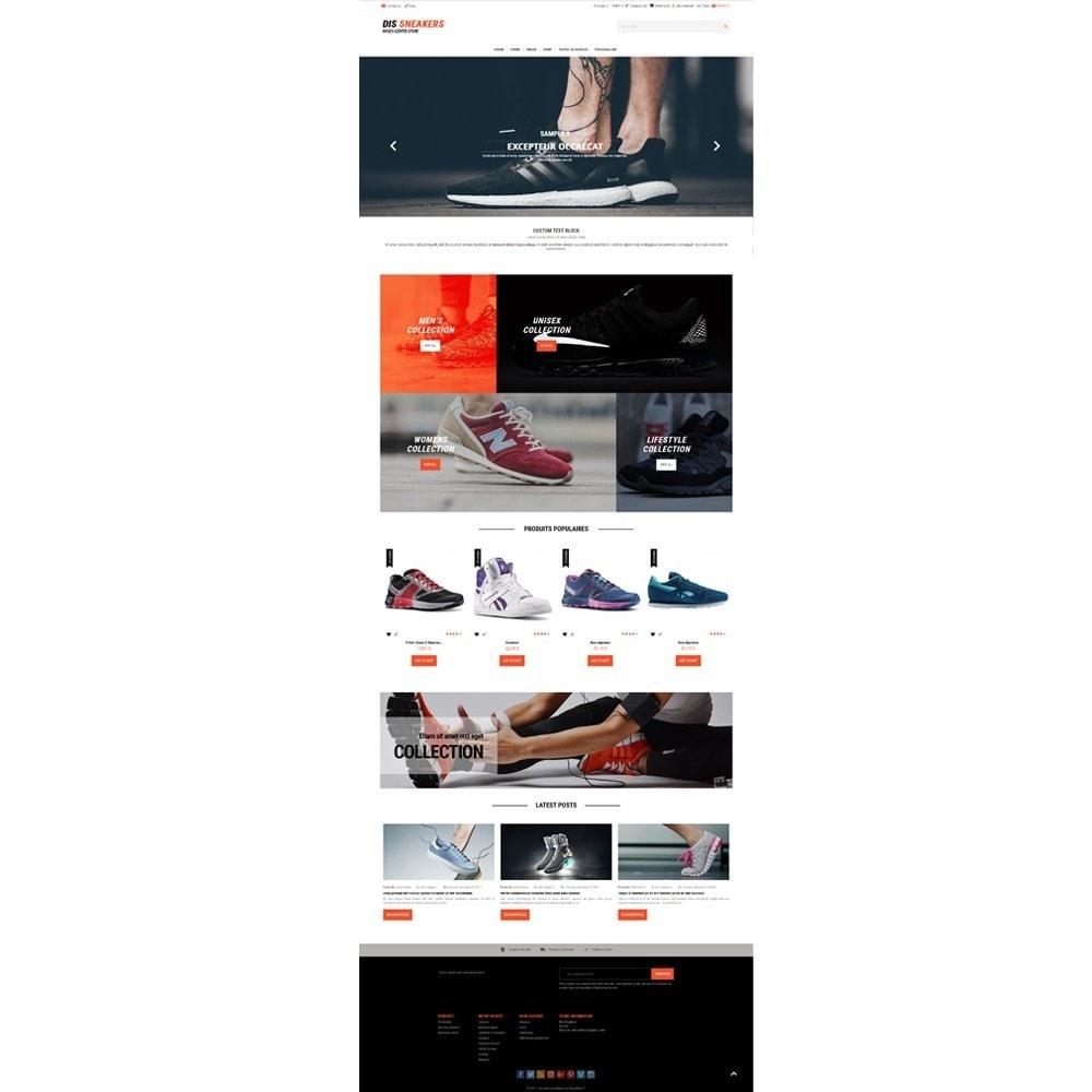 theme - Fashion & Shoes - Thème Dis Sneakers Store - 2