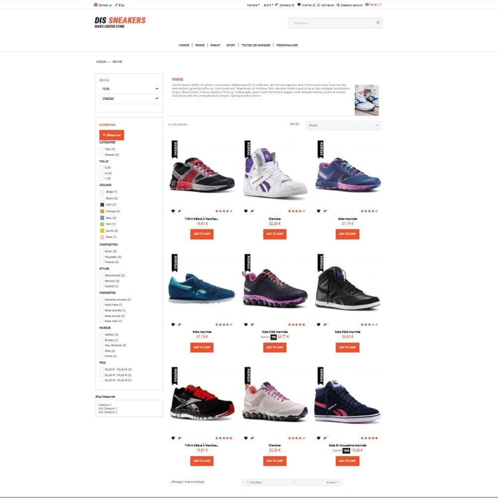 theme - Fashion & Shoes - Thème Dis Sneakers Store - 3