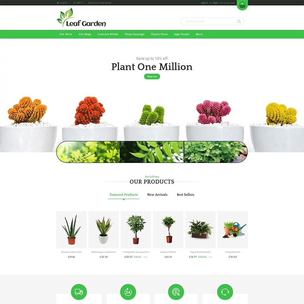 theme - Дом и сад - Leaf Garden Store - 2