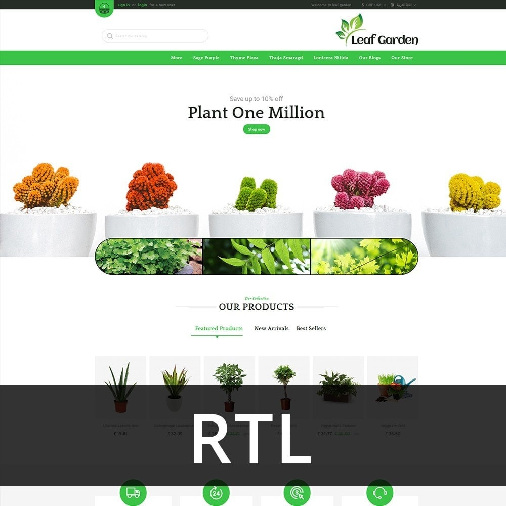 theme - Maison & Jardin - Leaf Garden Store - 3