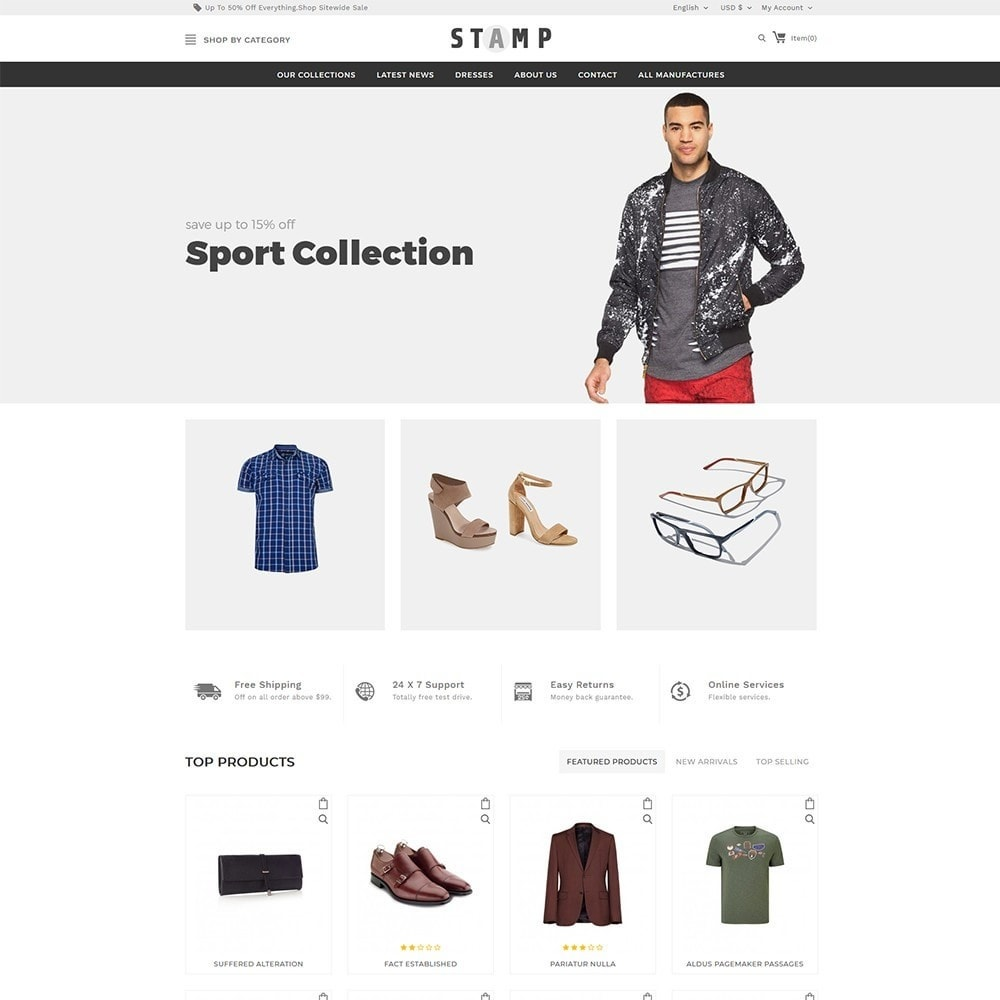 theme - Mode & Chaussures - Stamp Fashion Store - 2