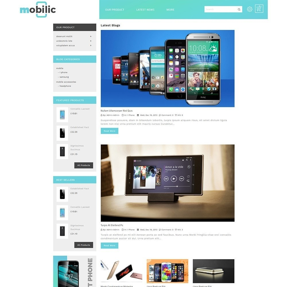 theme - Electronics & Computers - Mobilic Mobile Shop - 7