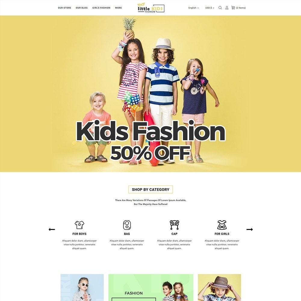theme - Moda & Calzature - Littekids Fashion Store - 2
