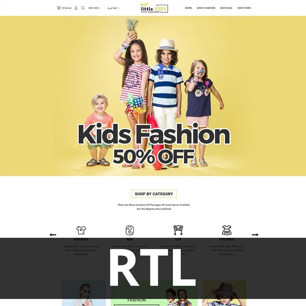 theme - Moda & Calzature - Littekids Fashion Store - 3