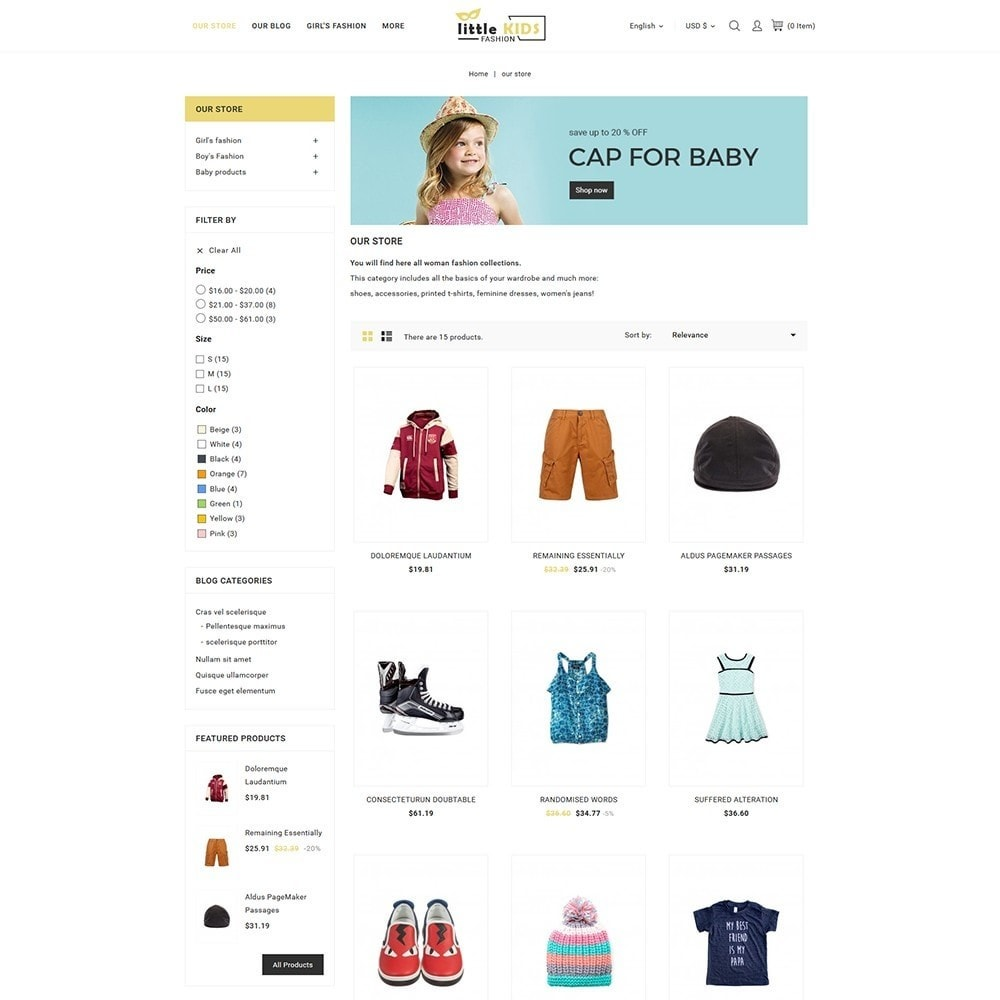 theme - Moda & Calzature - Littekids Fashion Store - 4
