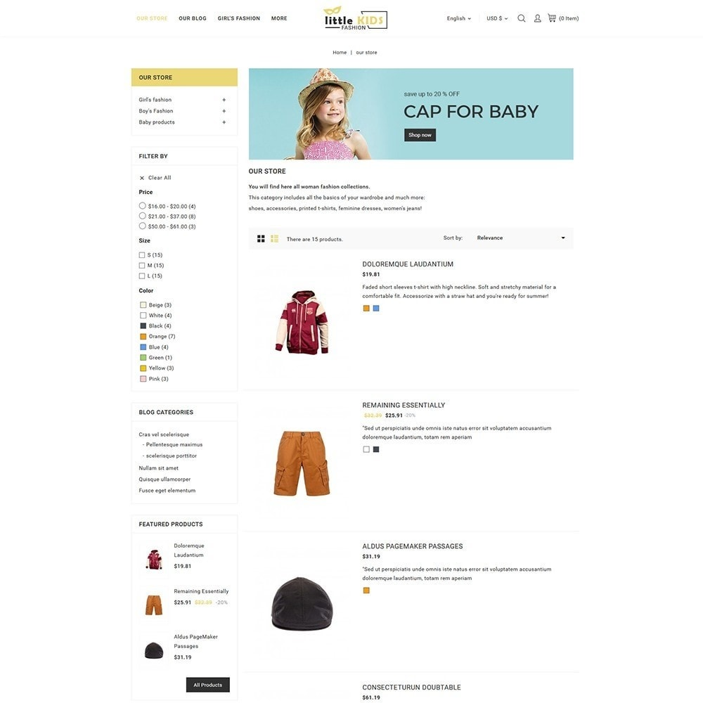 theme - Moda & Calzature - Littekids Fashion Store - 6