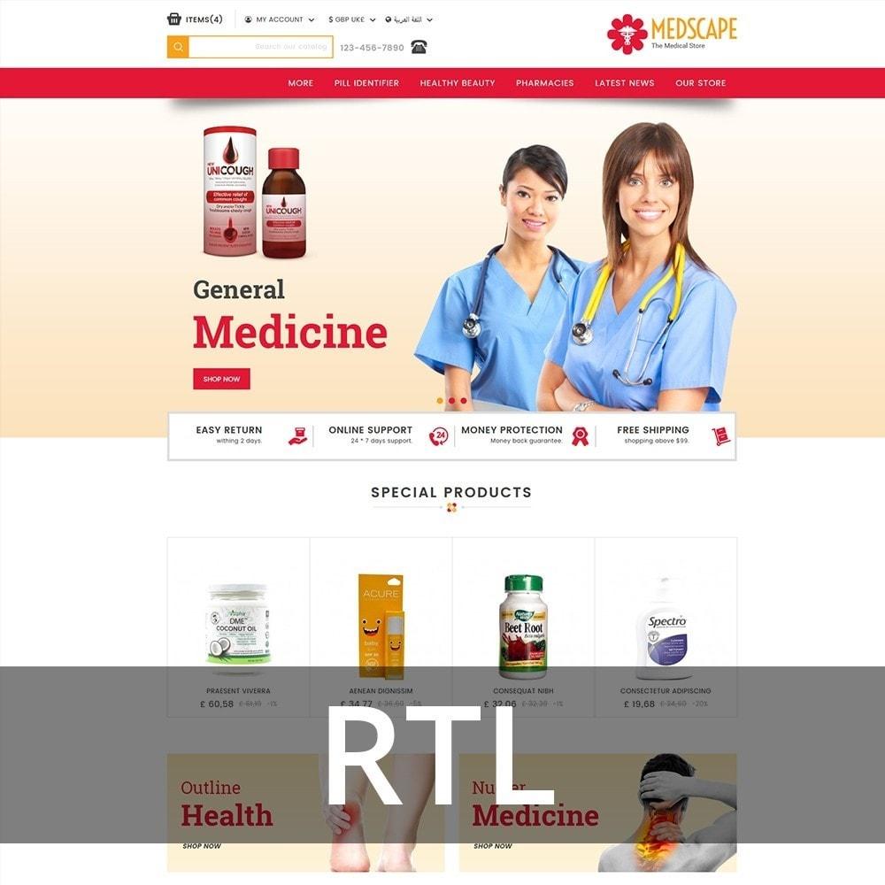 theme - Zdrowie & Uroda - Medscape Medical Store - 3