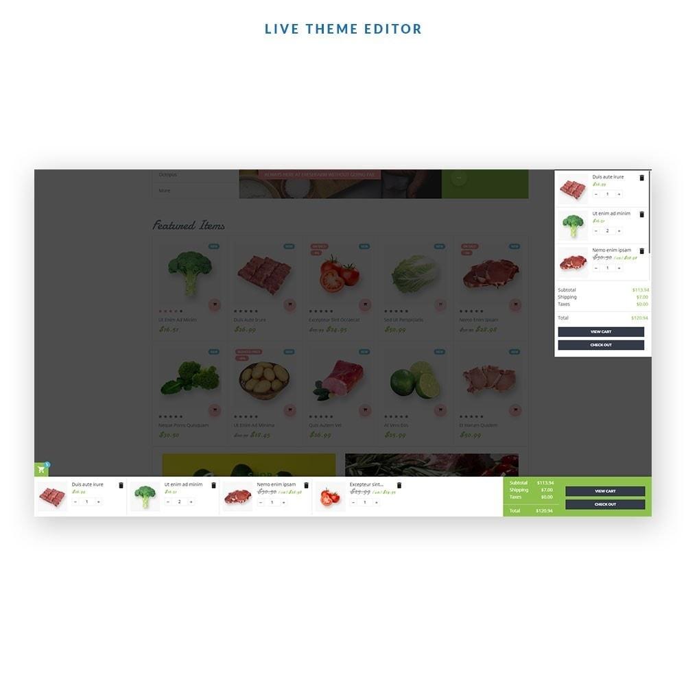 theme - Żywność & Restauracje - Leo Fresh Farm - 2