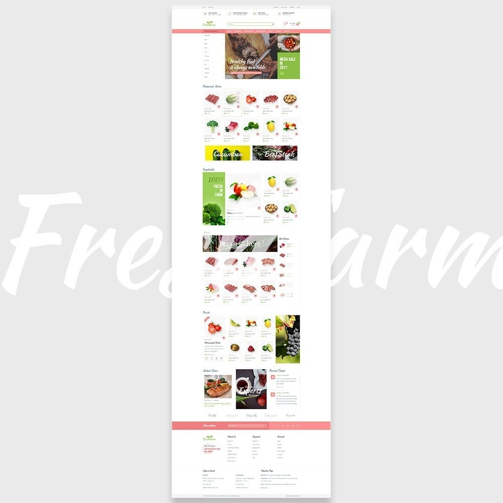 theme - Alimentation & Restauration - Leo Fresh Farm - 5