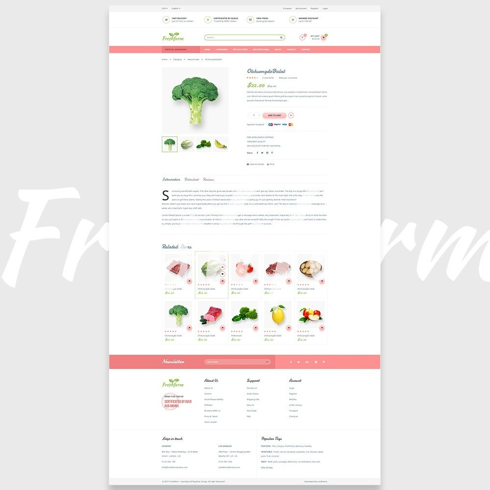 theme - Lebensmittel & Restaurants - Leo Fresh Farm - 7