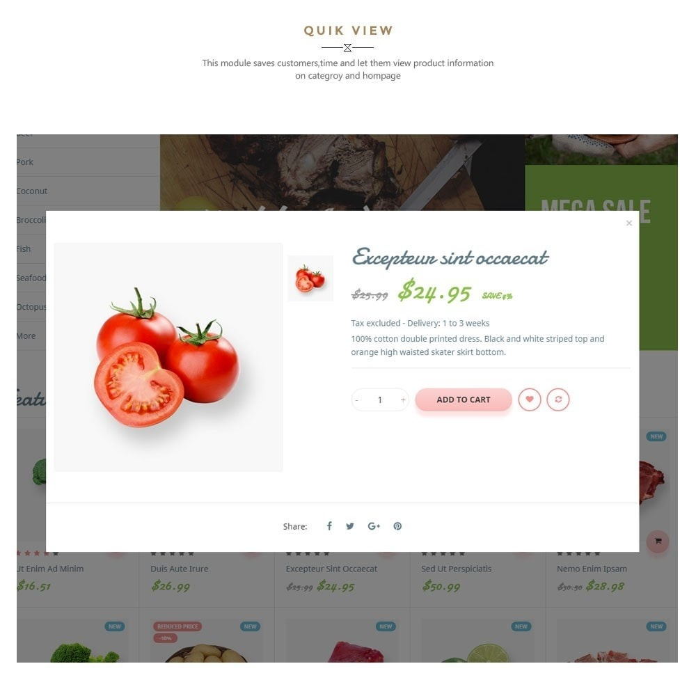 theme - Alimentation & Restauration - Leo Fresh Farm - 8
