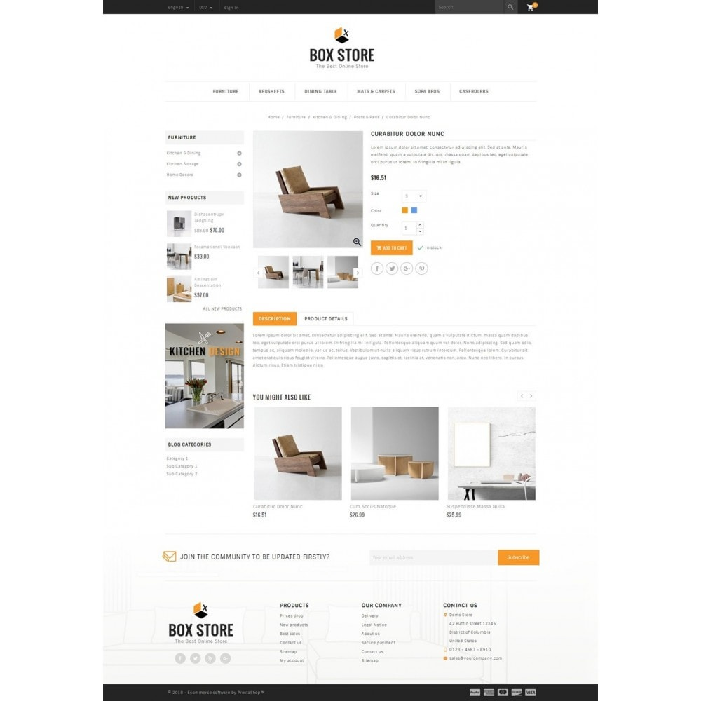 theme - Maison & Jardin - BoxStore - Furniture Store - 4