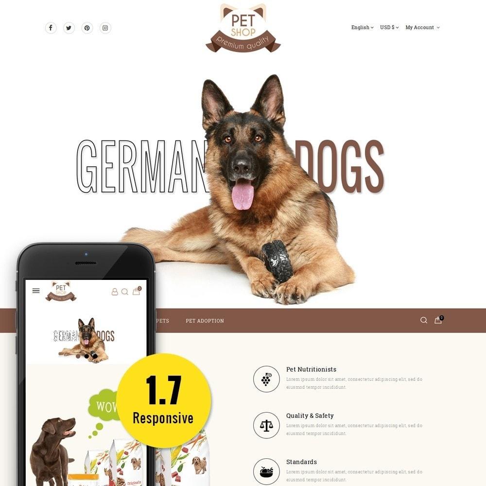 theme - Животные и домашние питомцы - Pet Store - 1