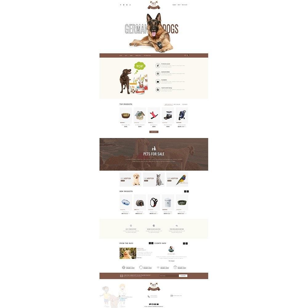 theme - Животные и домашние питомцы - Pet Store - 2