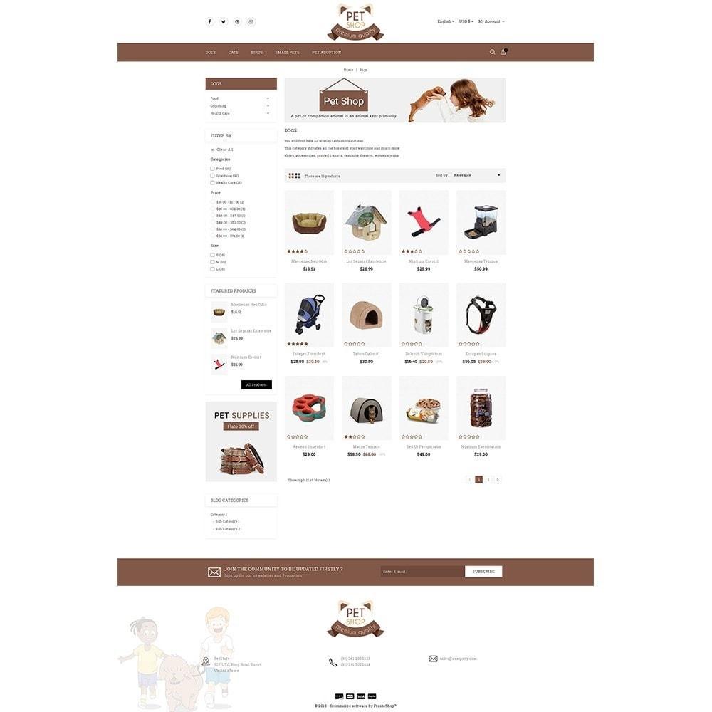 theme - Животные и домашние питомцы - Pet Store - 3