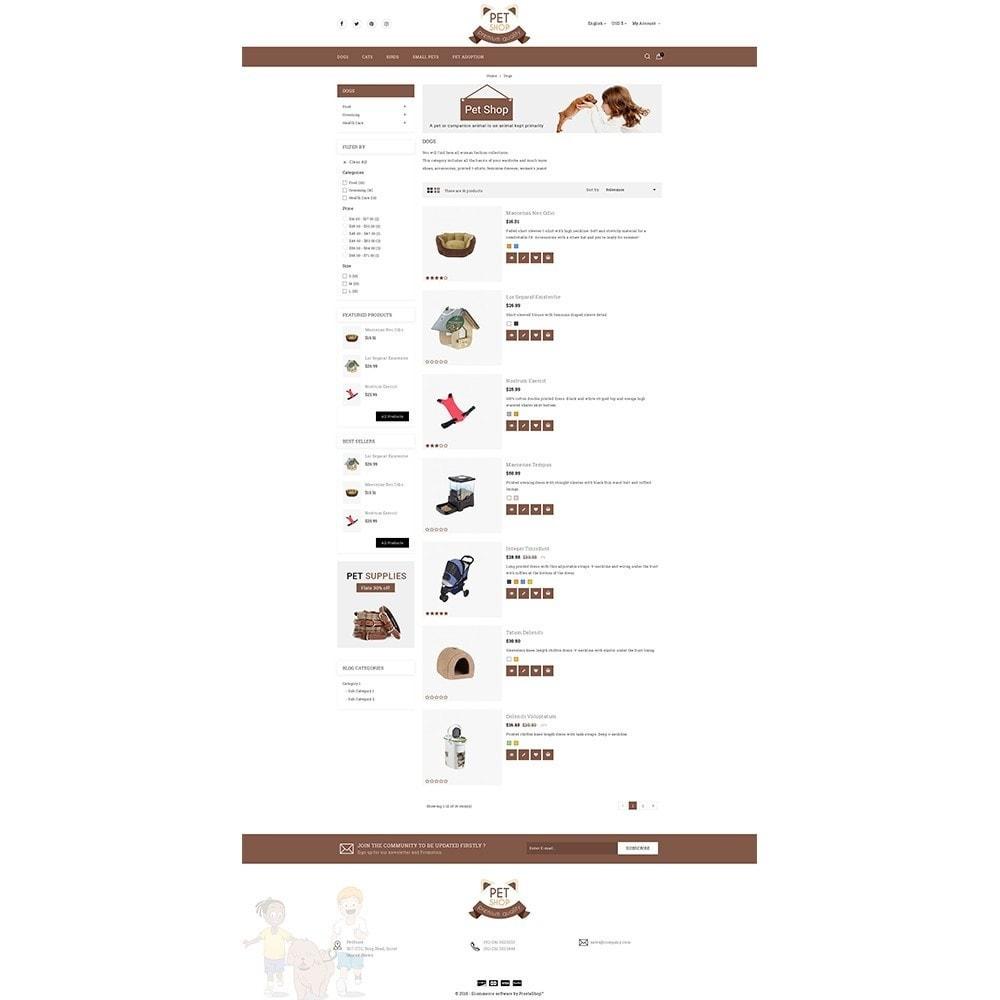 theme - Животные и домашние питомцы - Pet Store - 4