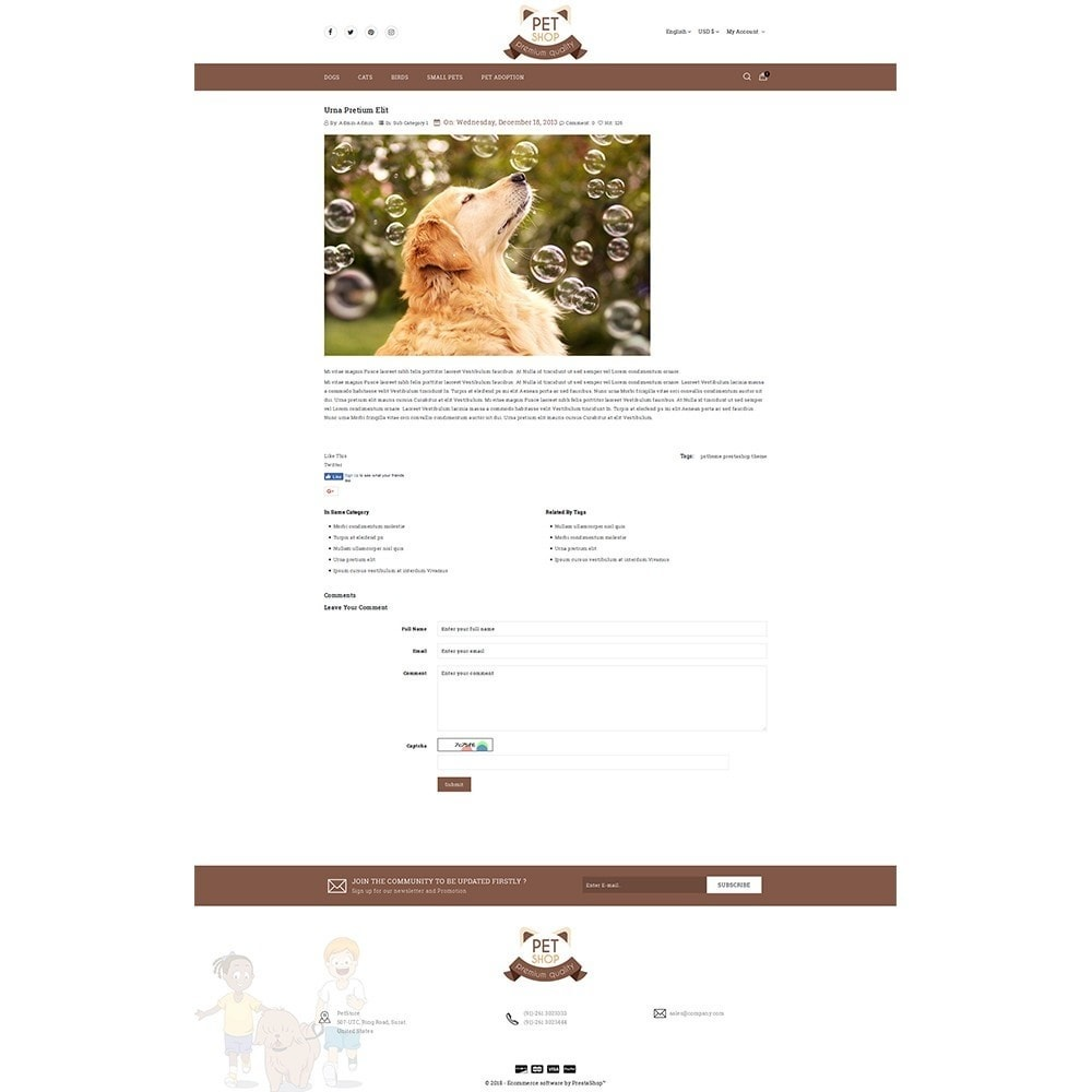 theme - Animali - Pet Store - 6