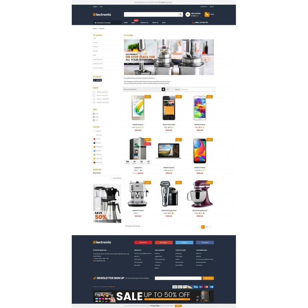 theme - Electrónica e High Tech - Supermarket Online Store - 3