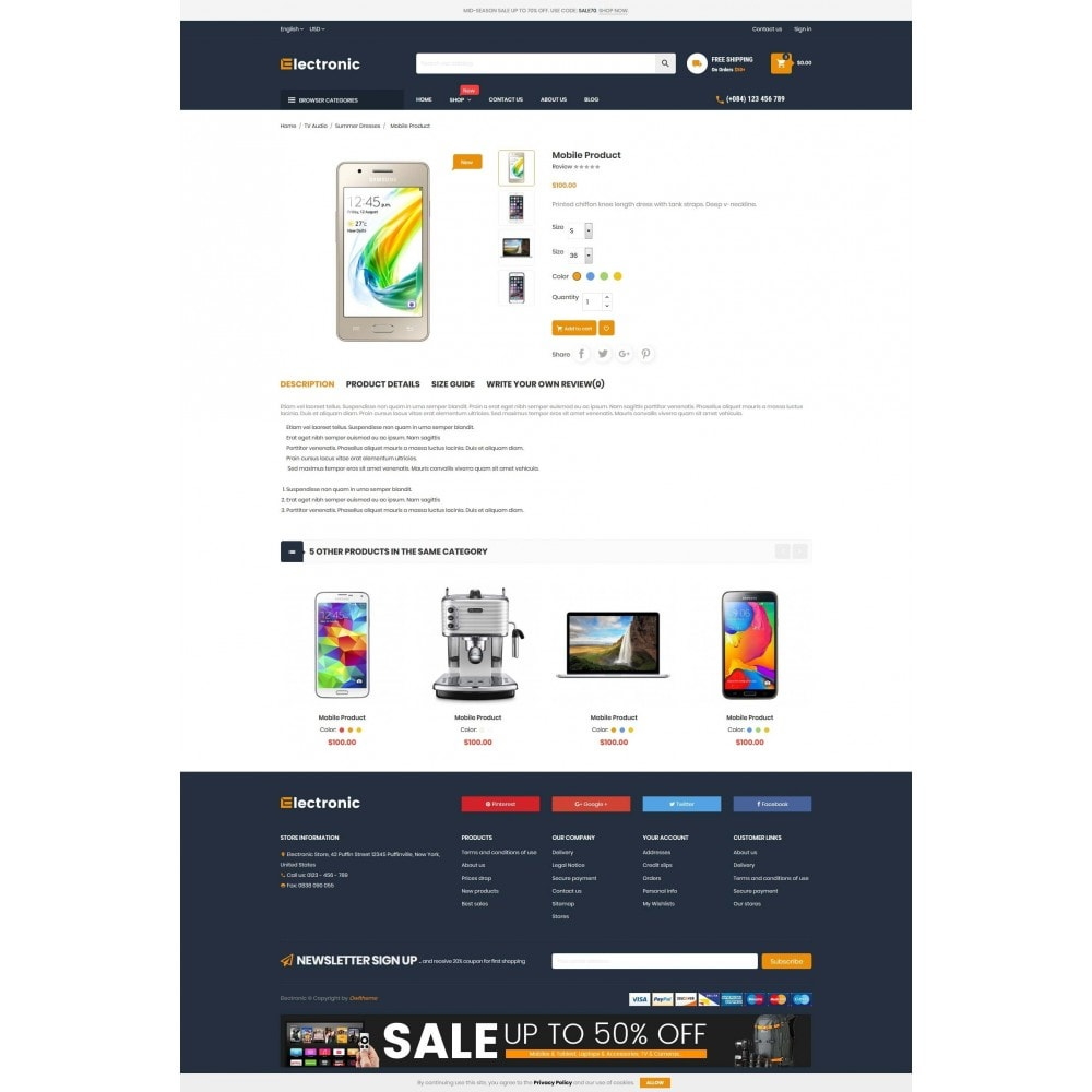 theme - Elettronica & High Tech - Supermarket Online Store - 4