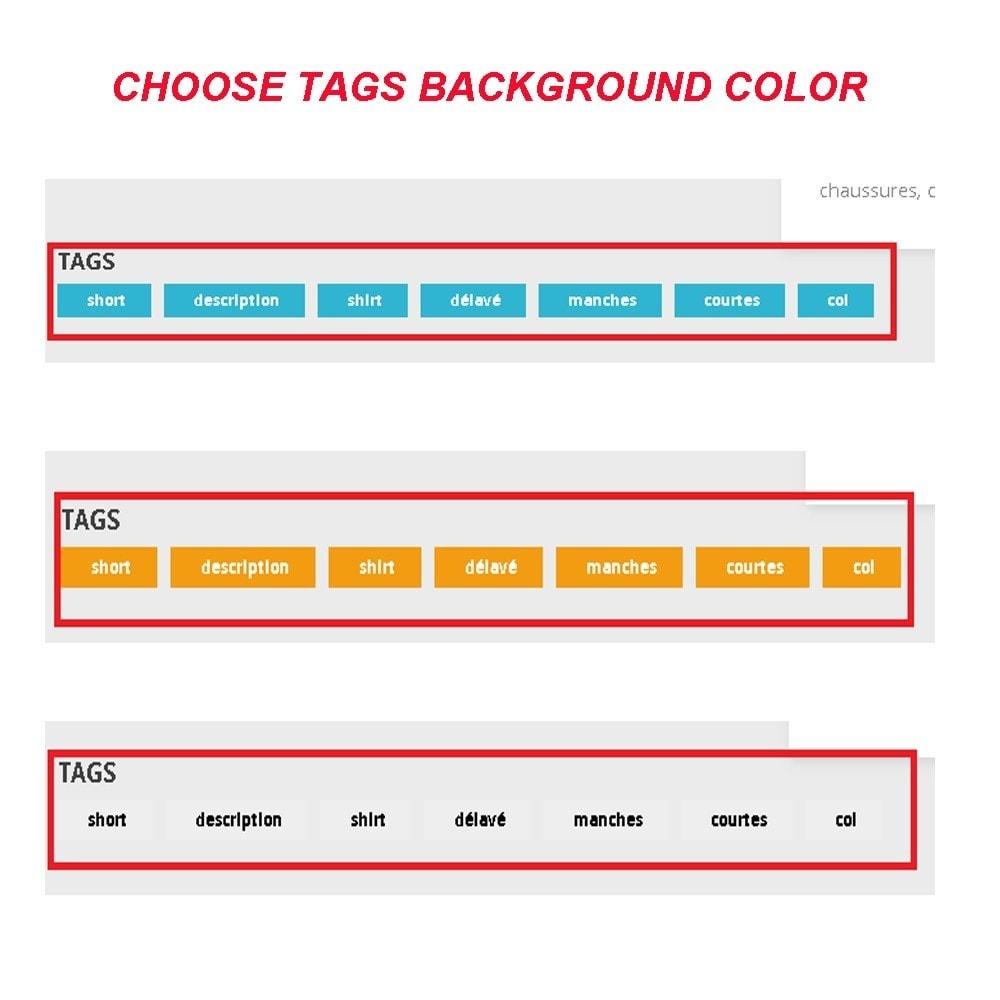 module - SEO (Referenciamento natural) - SEO - Product Tags - 6