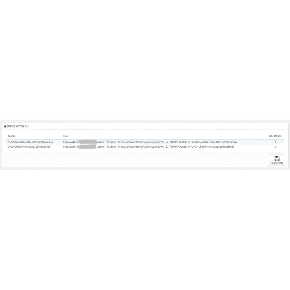module - Sécurité & Accès - Protégez votre administration (BackOffice) - 4