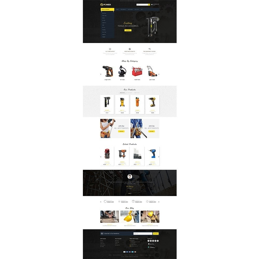 theme - Elettronica & High Tech - PowerTools Store - 2