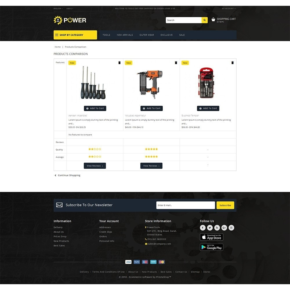 theme - Elettronica & High Tech - PowerTools Store - 9