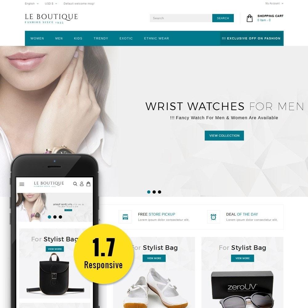 theme - Fashion & Shoes - Leboutique Store - 1