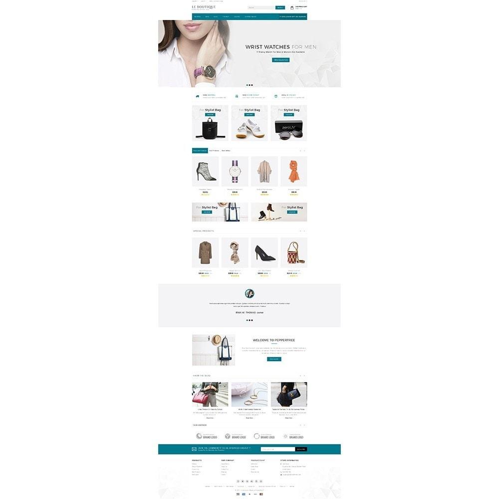 theme - Fashion & Shoes - Leboutique Store - 2