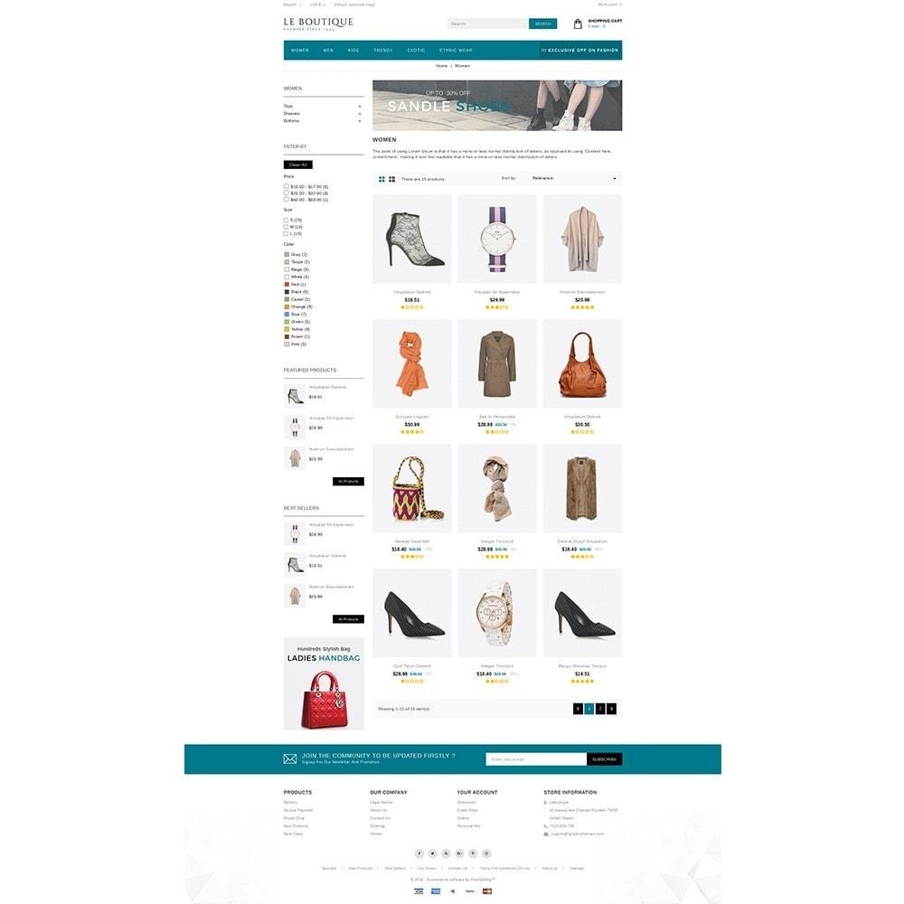 theme - Fashion & Shoes - Leboutique Store - 3