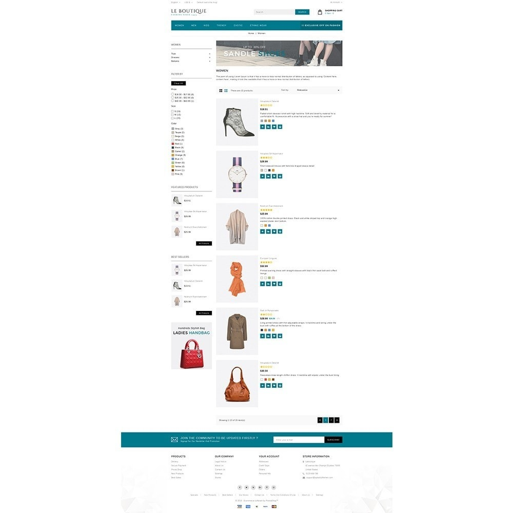 theme - Fashion & Shoes - Leboutique Store - 4
