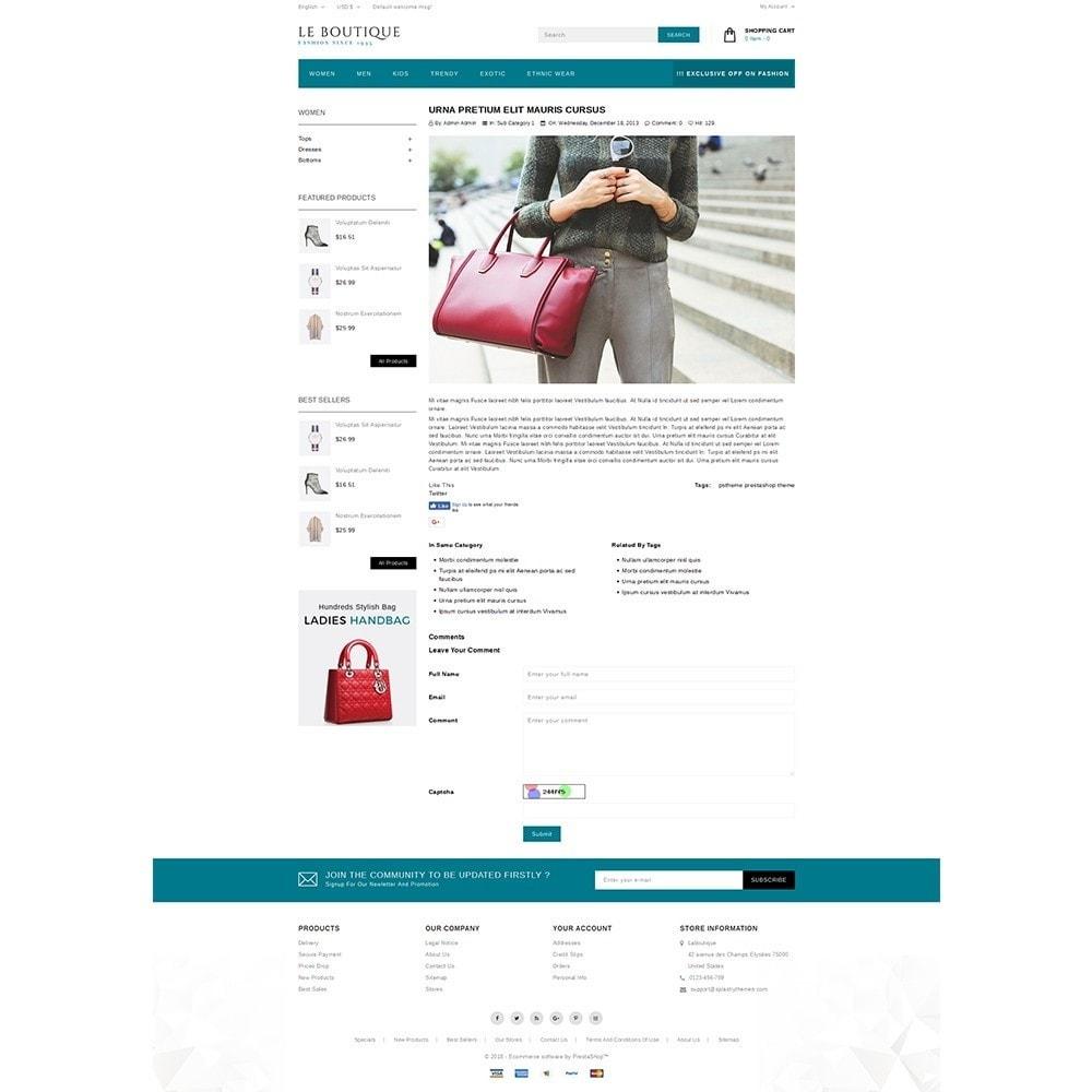theme - Fashion & Shoes - Leboutique Store - 6