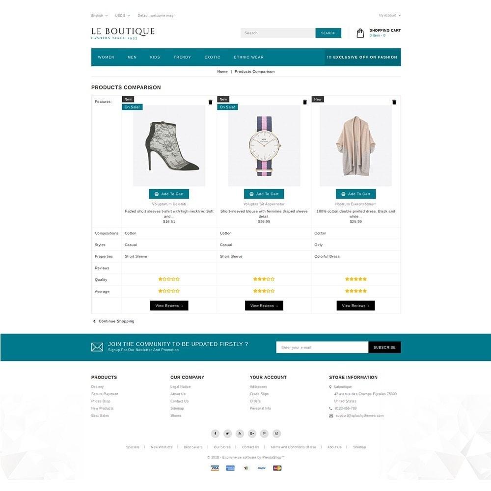 theme - Fashion & Shoes - Leboutique Store - 9