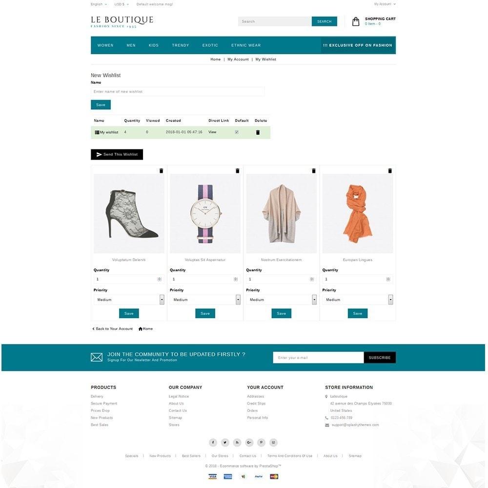 theme - Fashion & Shoes - Leboutique Store - 10