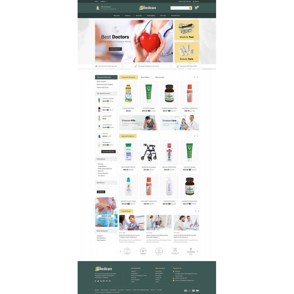 theme - Здоровье и красота - Medicare & Beauty Shop - 2