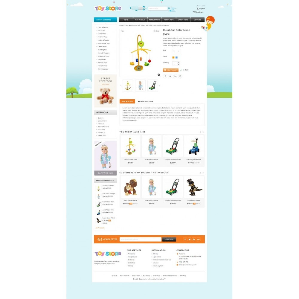 theme - Enfants & Jouets - Kids & Toys Shop - 4