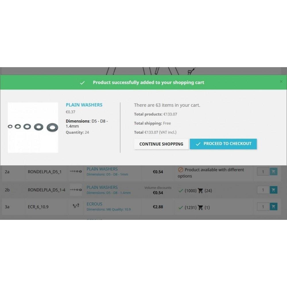 module - Personalización de la página - Spare parts - 6
