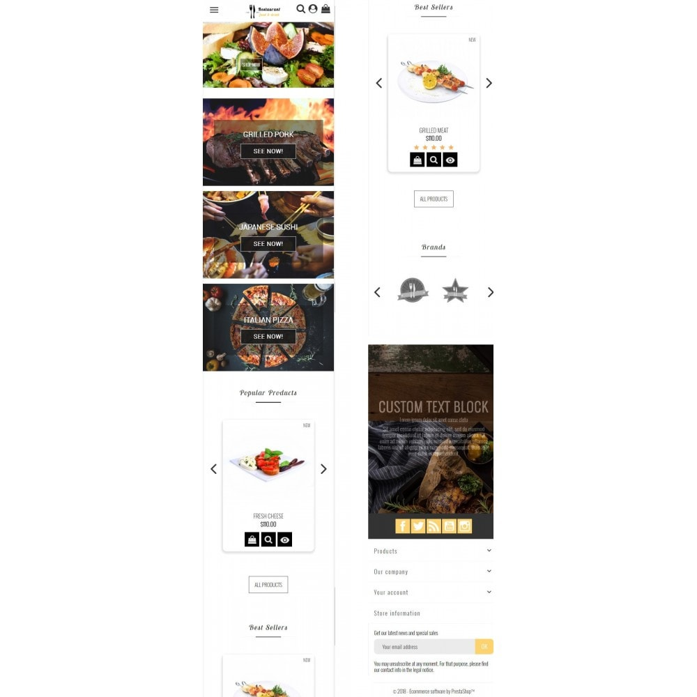 theme - Alimentation & Restauration - Restaurant Food - 6