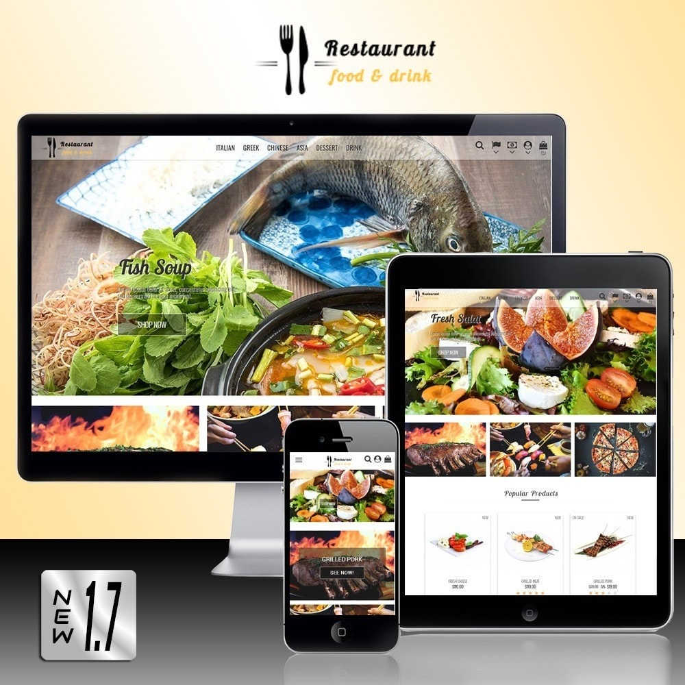 theme - Żywność & Restauracje - Restaurant Food - 2