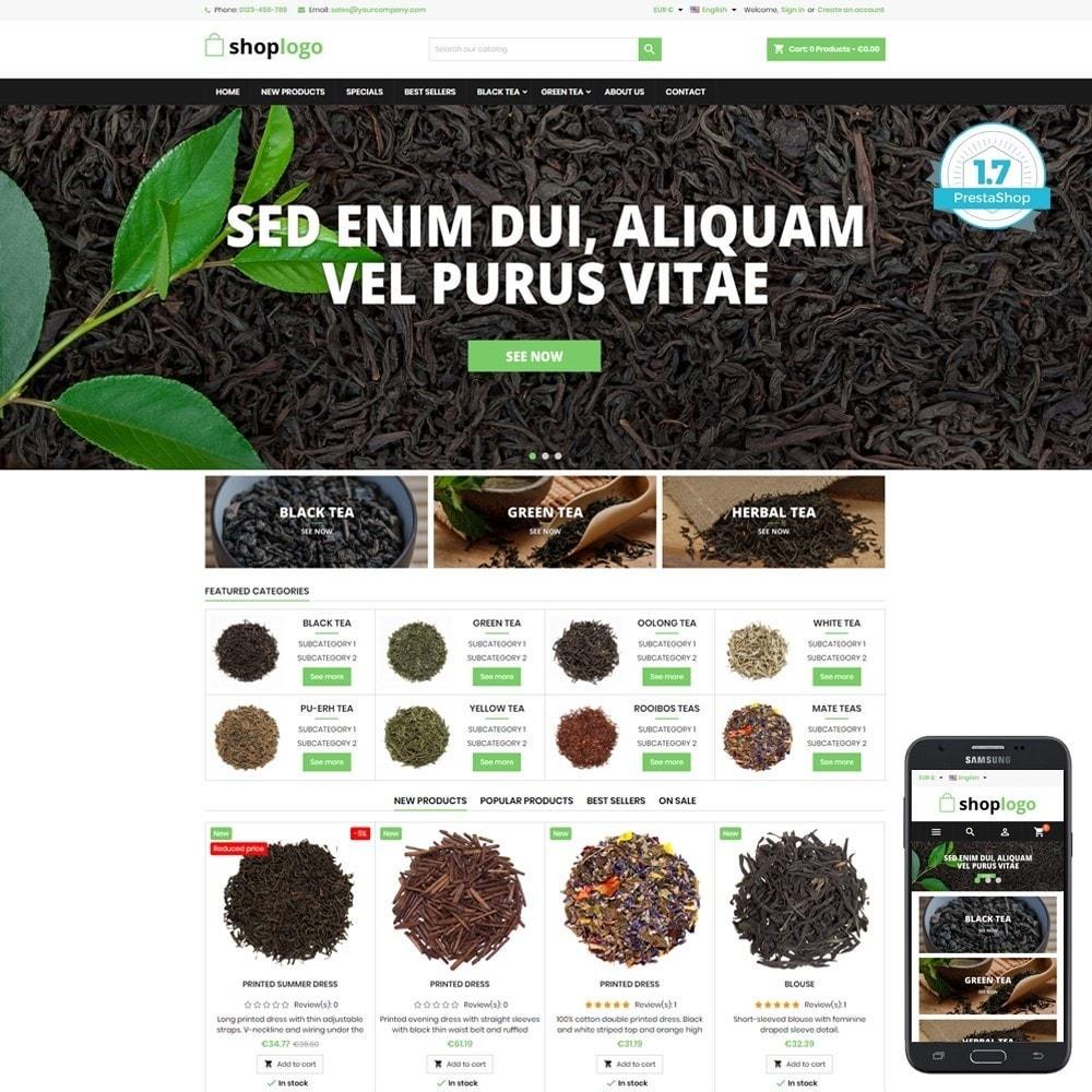 theme - Salud y Belleza - P17AT05 Tea, herbs and medicines store - 1