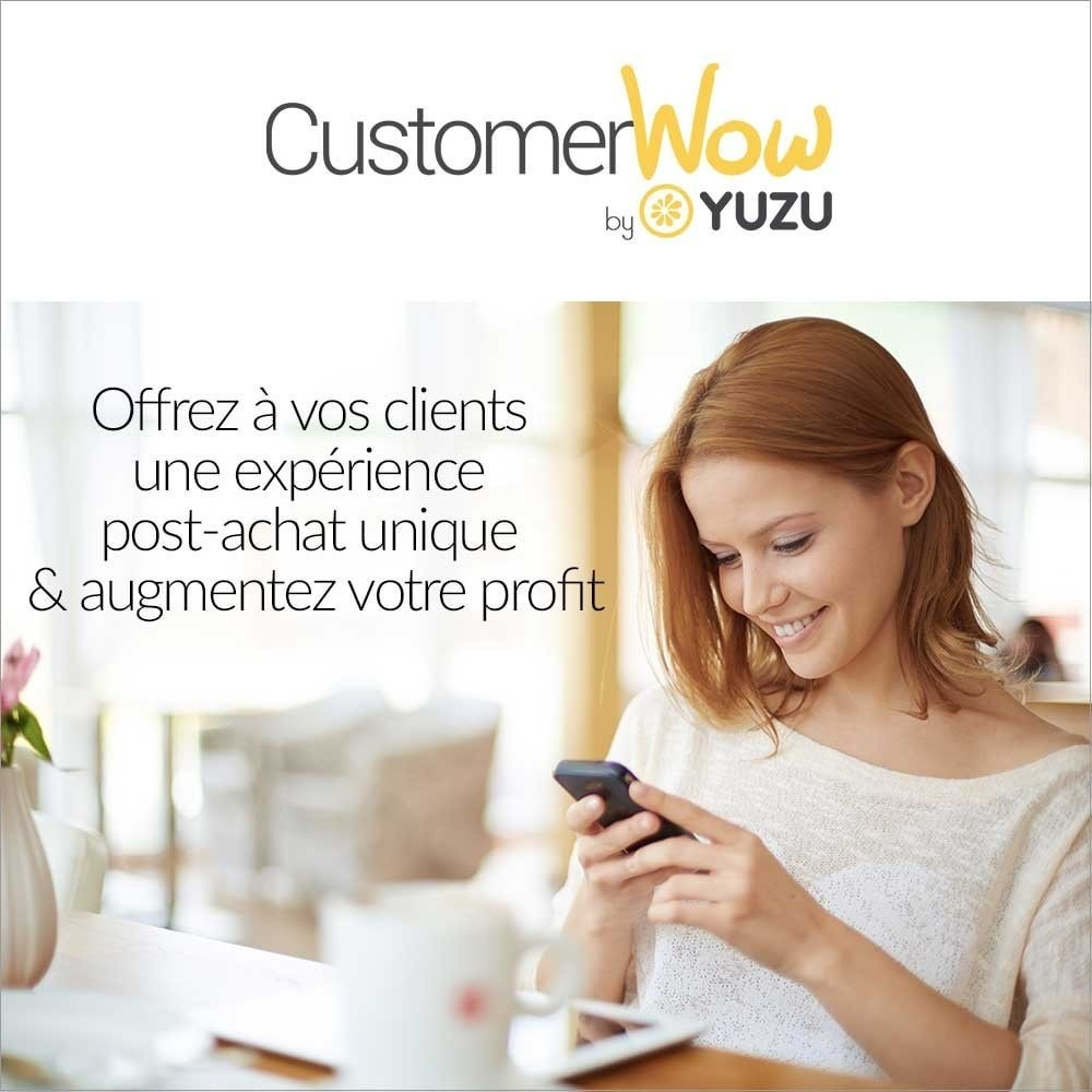 module - Remarketing & Warenkorbabbrüche - Yuzu Customer Wow - increase your customer value - 1